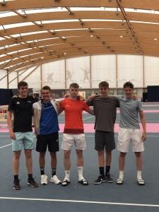 Under 18's Tennis 2