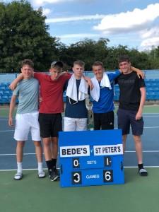 Under 18's Tennis